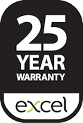 Excel 25 Year Warranty
